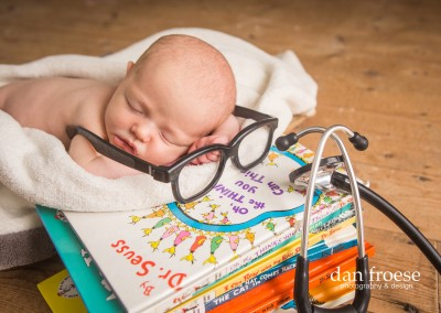 Dan Froese Newborn Photography