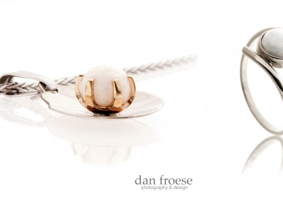 Product Photography - Scallop Pearl Jewellery